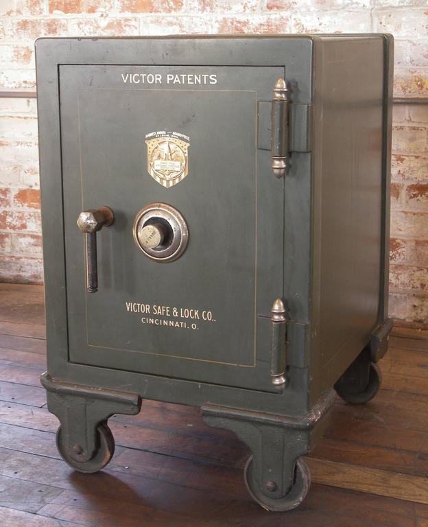 Vintage Victor Safe Victor Safe And Lock Company At 1stdibs