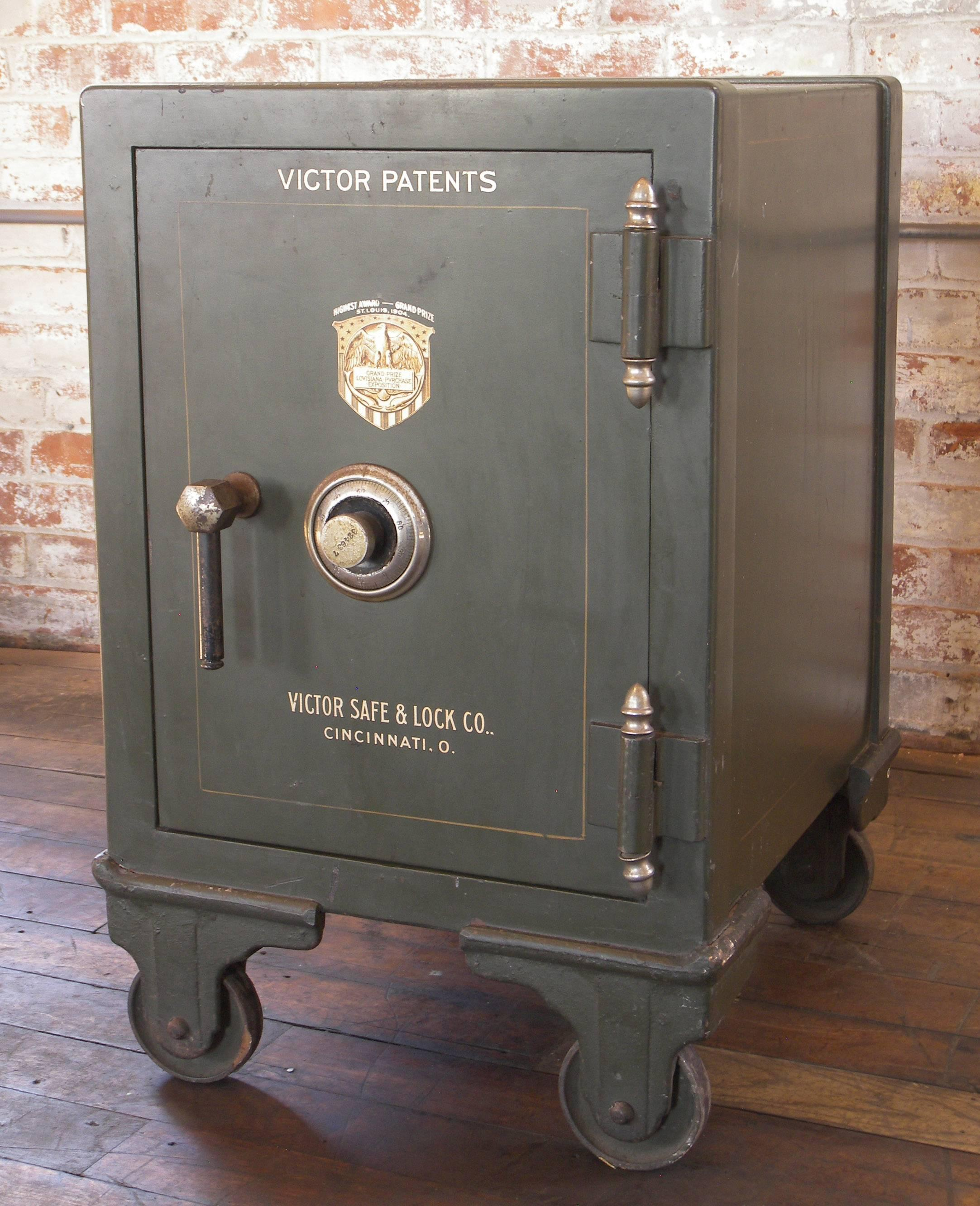 Vintage Victor Safe, Victor Safe and Lock Company