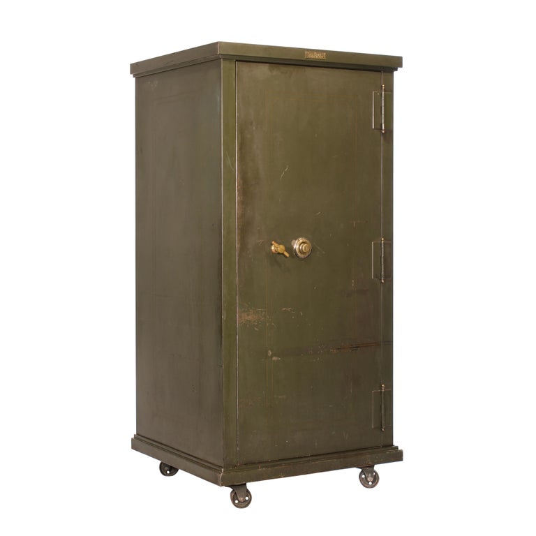 Vintage Steel Safe-Cabinet Co. Safe For Sale