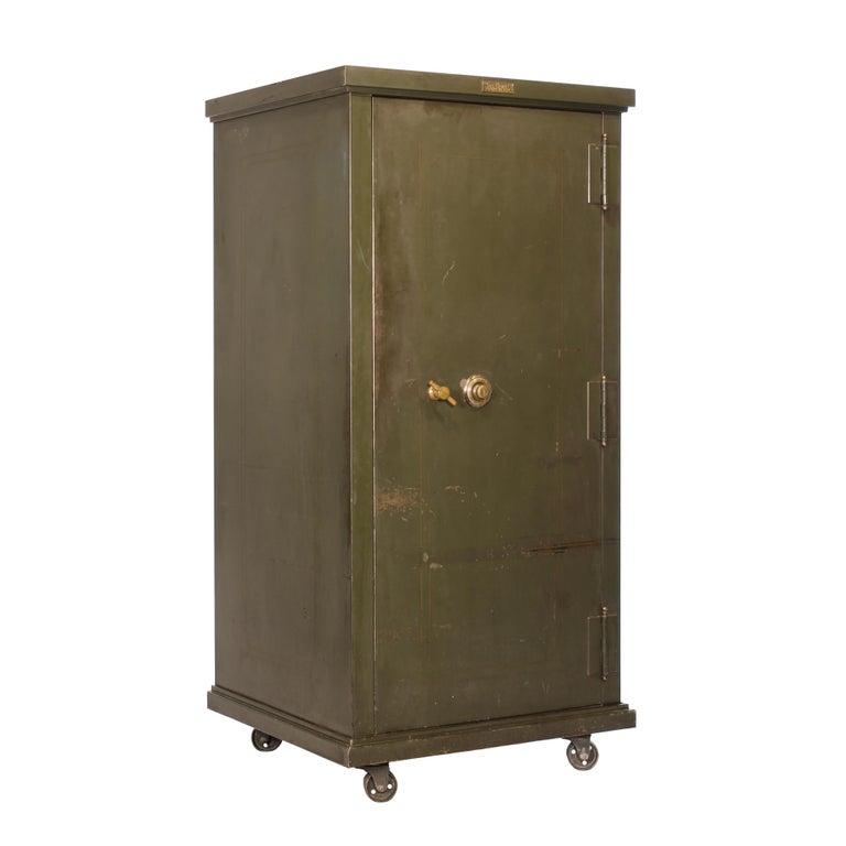 Vintage Steel Safe Cabinet Co For
