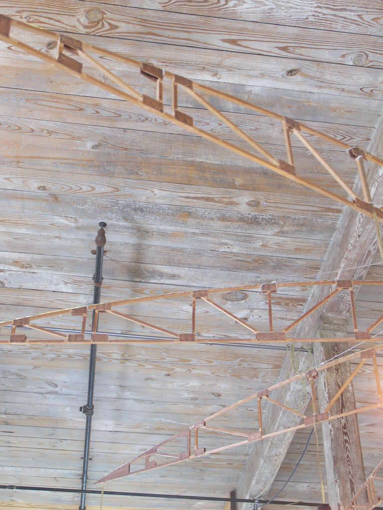 Airplane Truss Chandelier For Sale 3