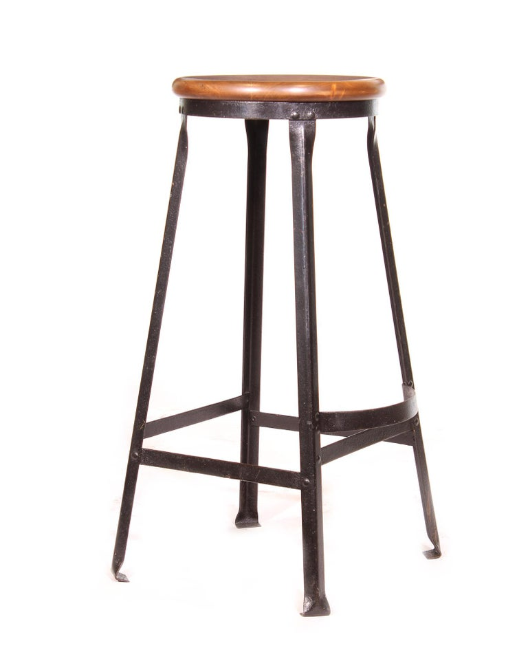 Factory Shop Bar Stool For Sale 3