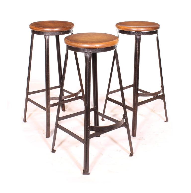 Factory Shop Bar Stool For Sale 9