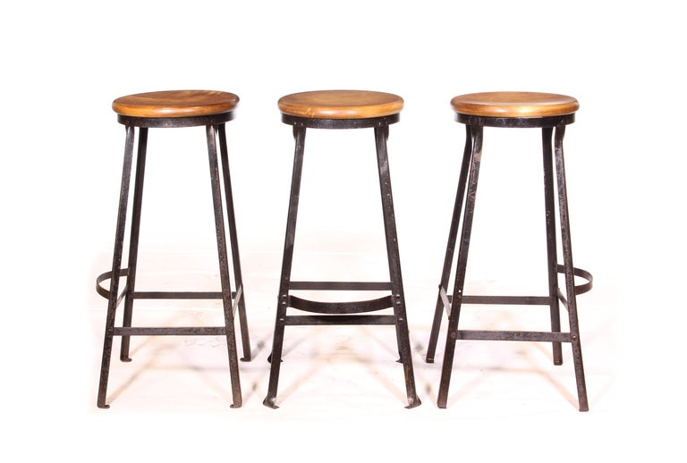 Factory Shop Bar Stool For Sale 12
