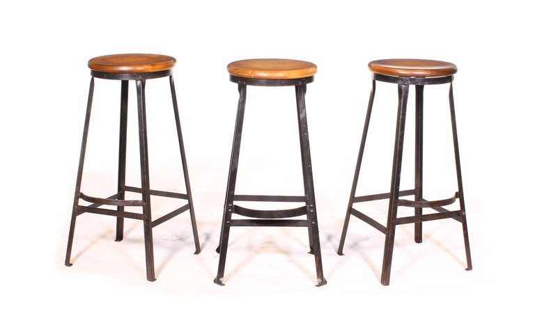 Factory Shop Bar Stool For Sale 11