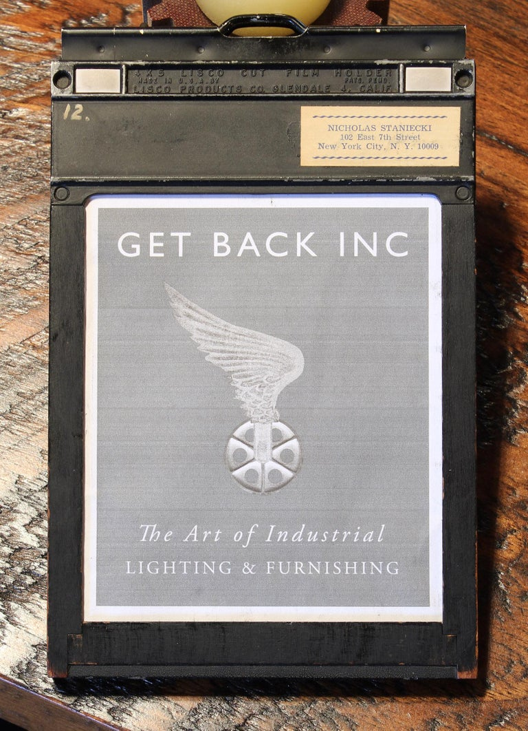 Industrial Photo Frame In Distressed Condition For Sale In Oakville, CT