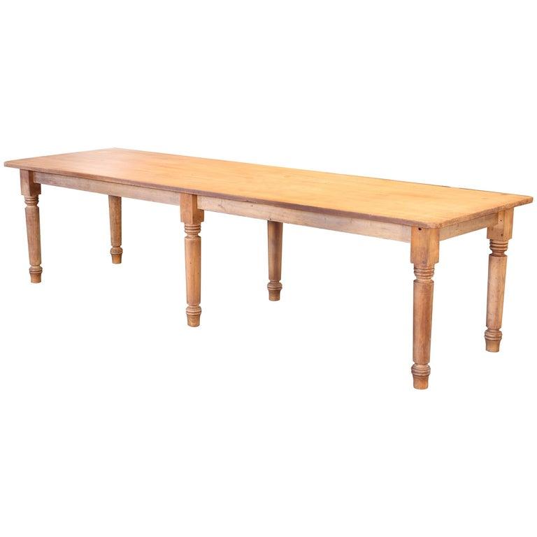 Harvest / Farm Dining Table For Sale