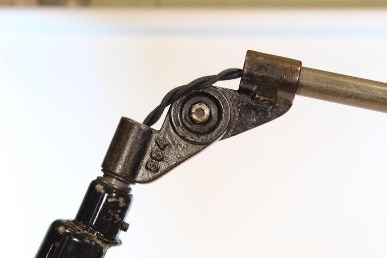 Vintage Industrial Adjustable Floor Lamp
