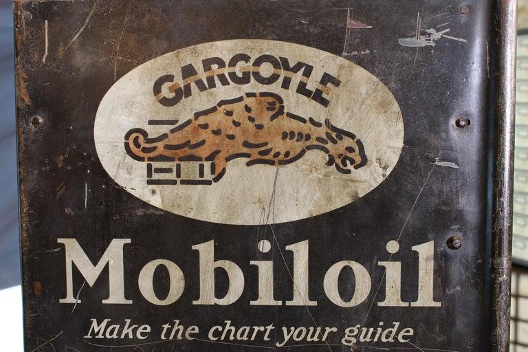 Vintage Gargoyle Mobil Oil Metal Display Rack For Sale 9