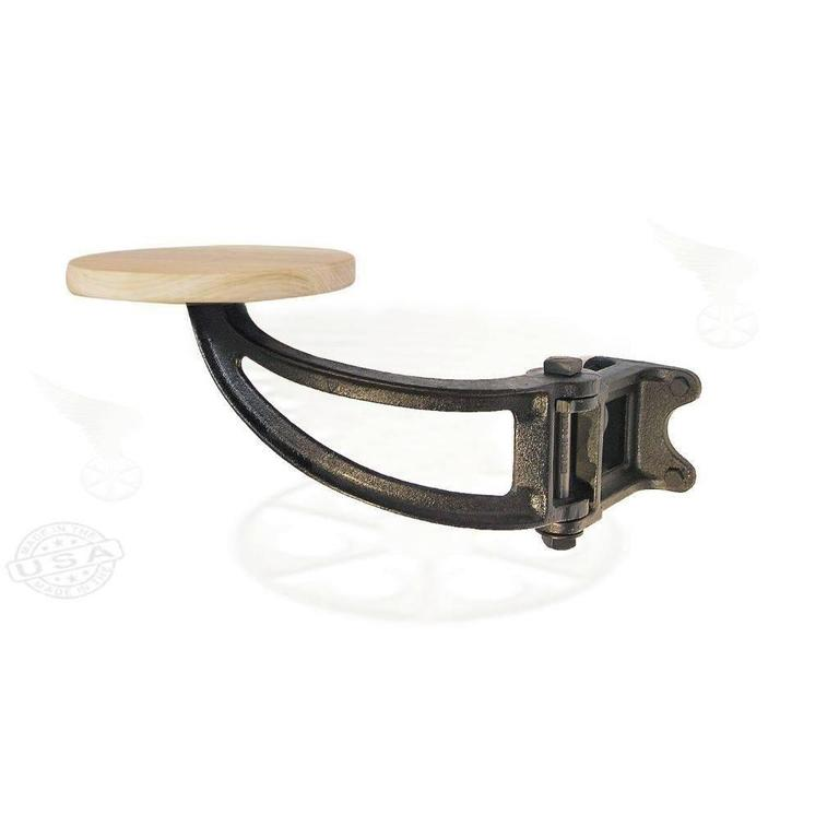 Cast Iron And Wood Swing Out Seat For Sale At 1stdibs