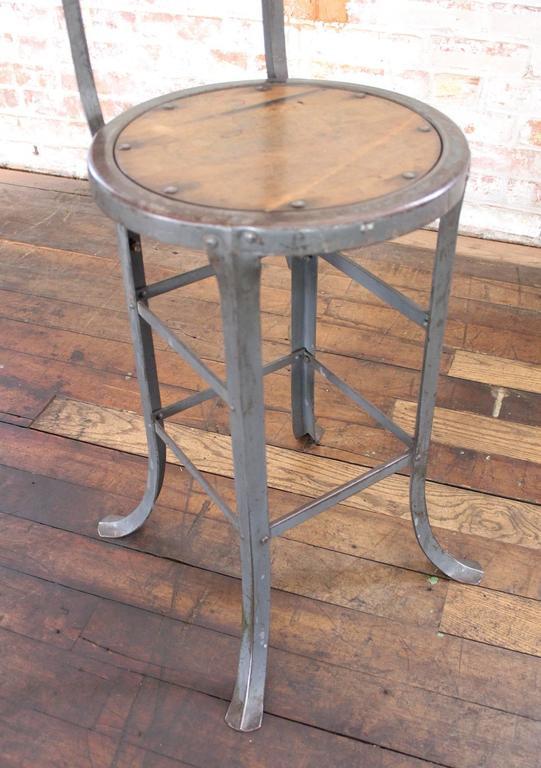 Vintage Industrial Rustic Wood And Metal Bar Kitchen
