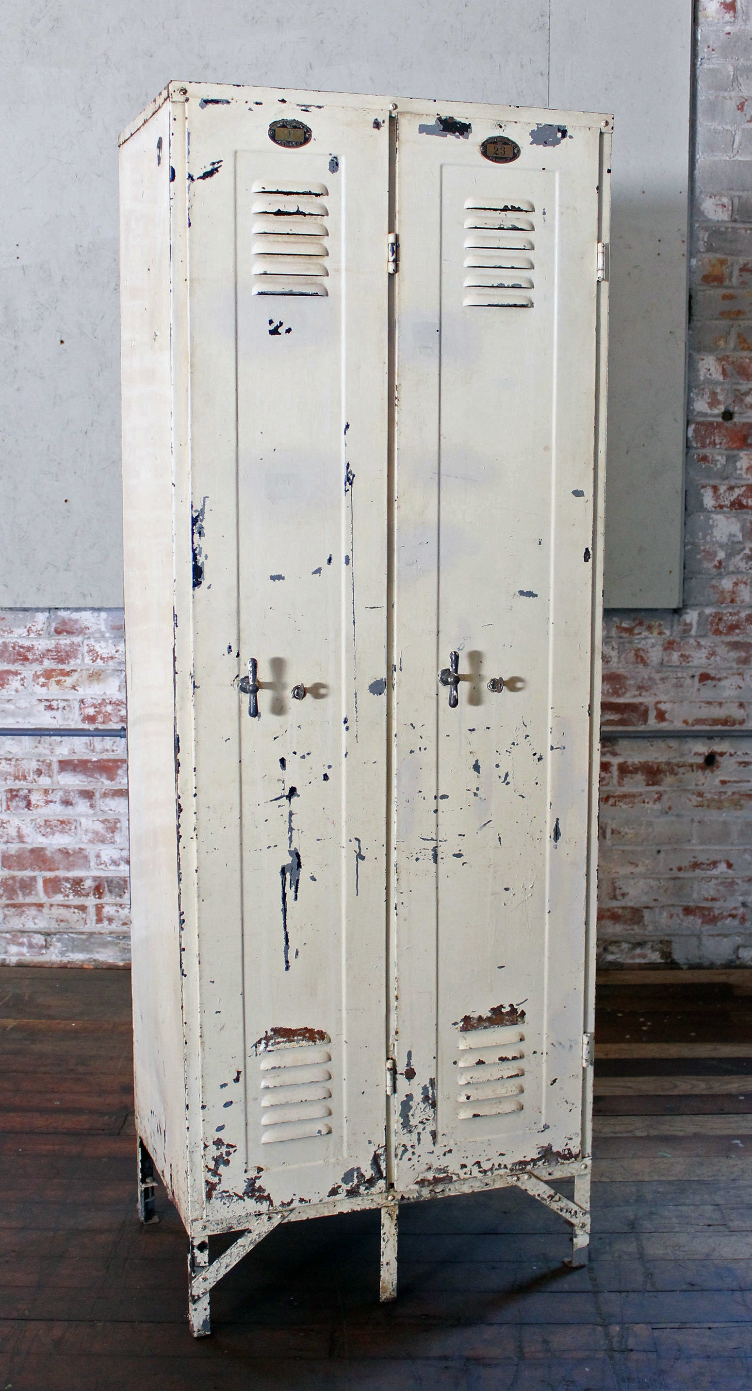 Vintage Industrial Metal Lockers