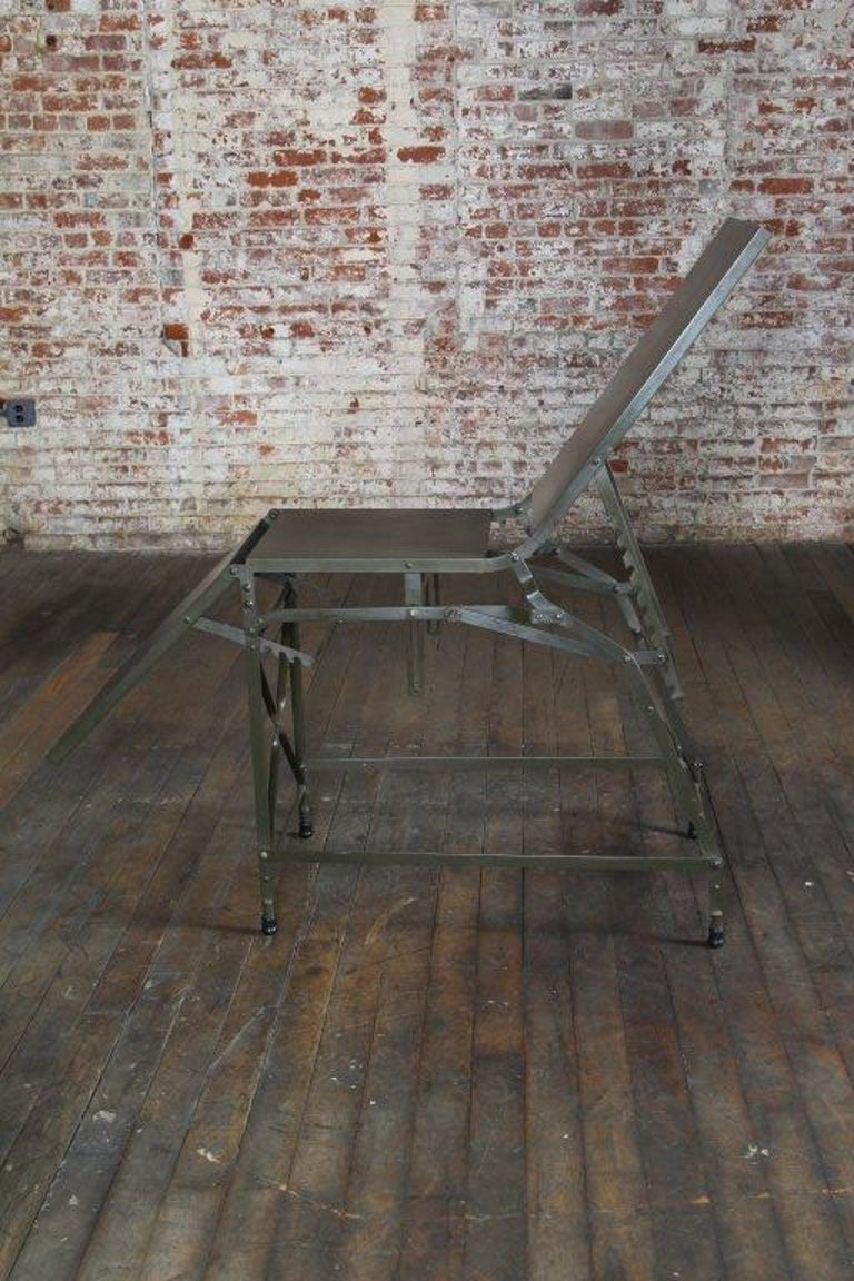 Antique Military Medical Field Examination Table At 1stdibs