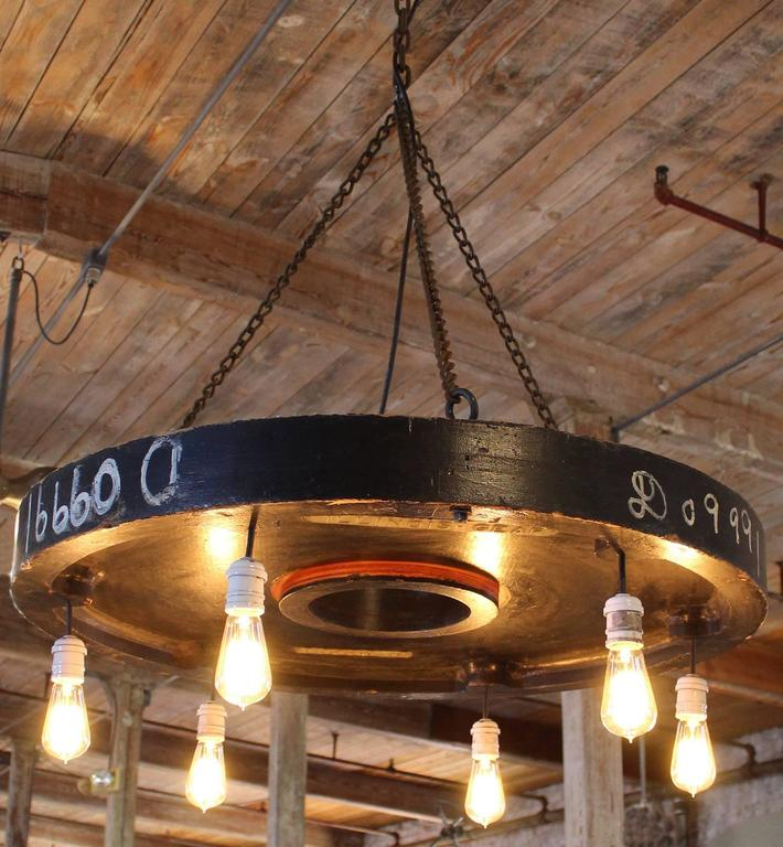 antique inspired chandelier huge rustic industrial urban