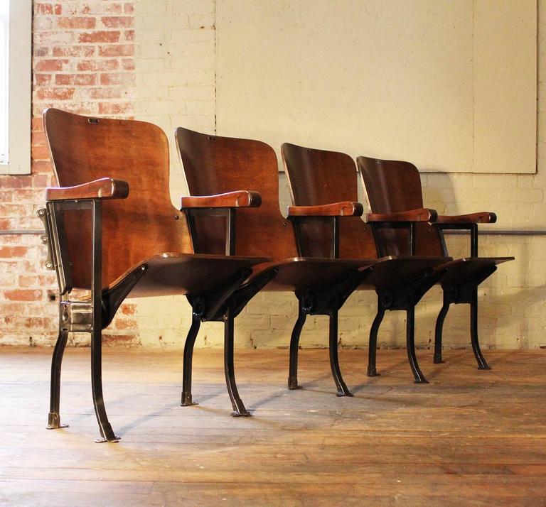 Antique Theater Chairs - Antique Theater Chairs Antique Furniture