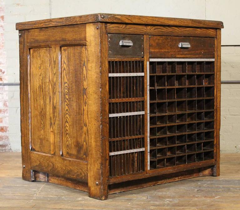 id manufacturing the f tubbs industrial by parts cabinets cubby furniture company counter top holes cabinet table vintage marble wood l wooden pieces made getbackinc case storage