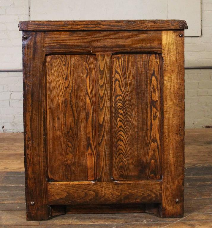 Industrial Marble Top Wooden Table Counter Storage Parts Cabinet Cubby  Holes 3