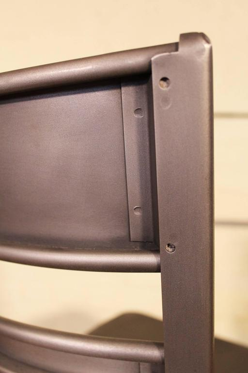 Dining Chair, Seat Vintage Industrial Mid Century Modern Steel / Metal Toledo  7