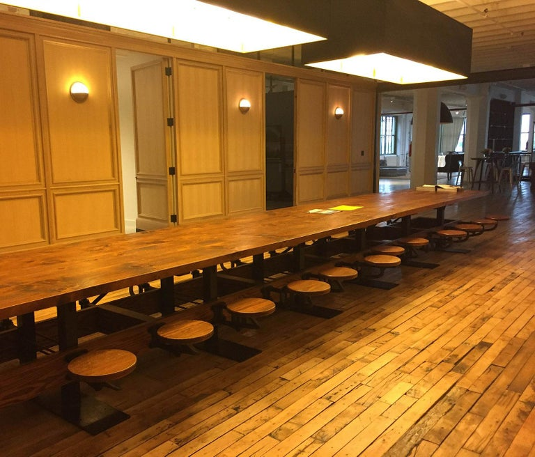 Communal Pub Height & Restaurant Dining Table For Sale 9