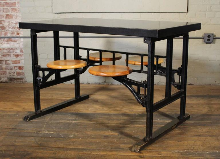 breakfast kitchen dining table with swing out seats  pub height kitchen table and chairs