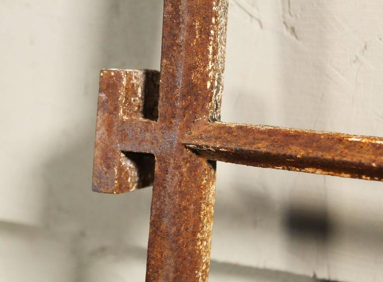 20th Century Distressed Insane Asylum Window Ventilation Grills For Sale