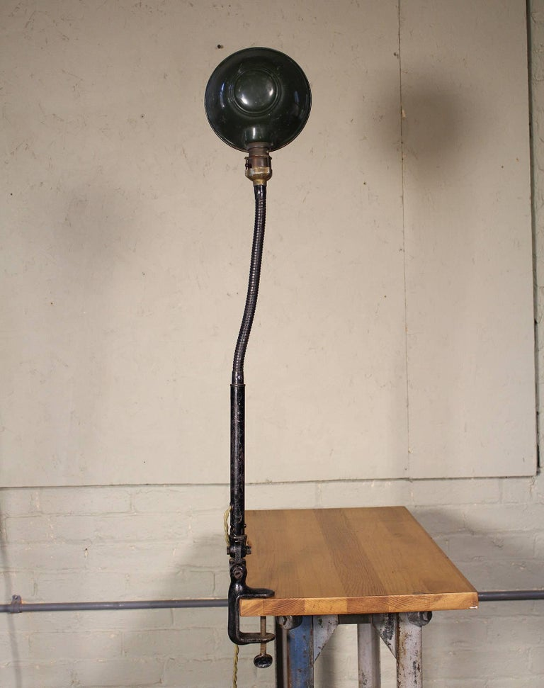 Gooseneck Desk Task Lamp Vintage Industrial Adjustable