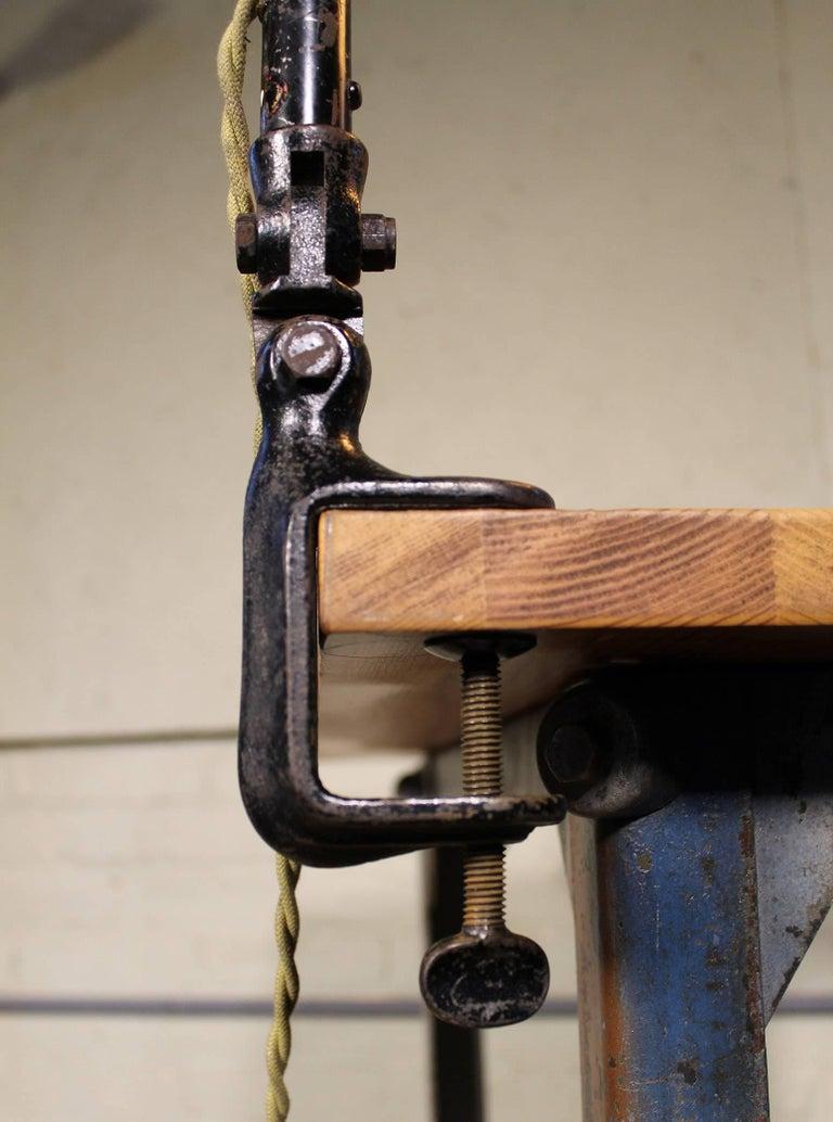 Gooseneck Desk Task Lamp Vintage Industrial Adjustable