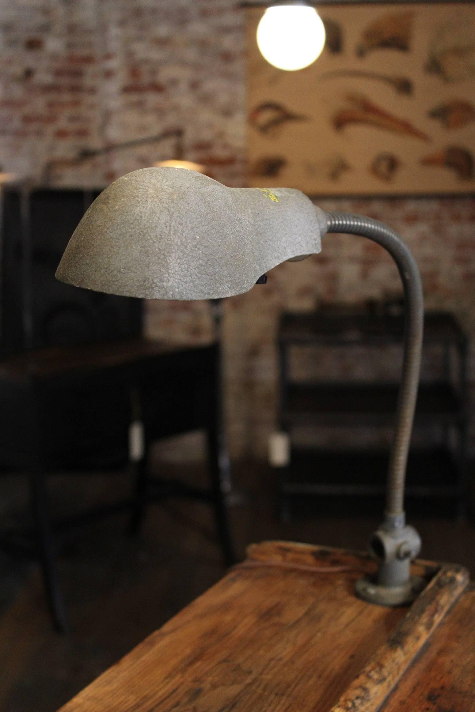Hostess Stand Vintage Wooden Storage Table Standing Writing Desk Gooseneck Lamp At 1stdibs