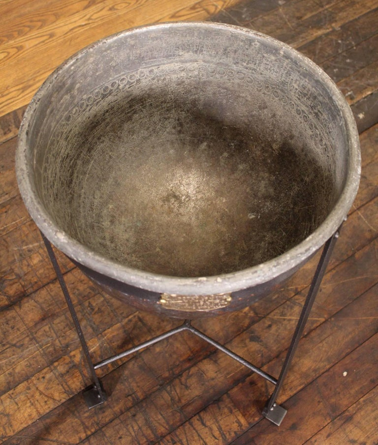 Cooking With A Kettle ~ Antique standing copper cooking kettle for sale at stdibs
