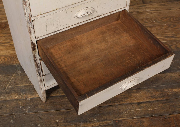 "20th Century Vintage Storage Gym Locker Wooden Cabinet ""Class of 1925"" For Sale"