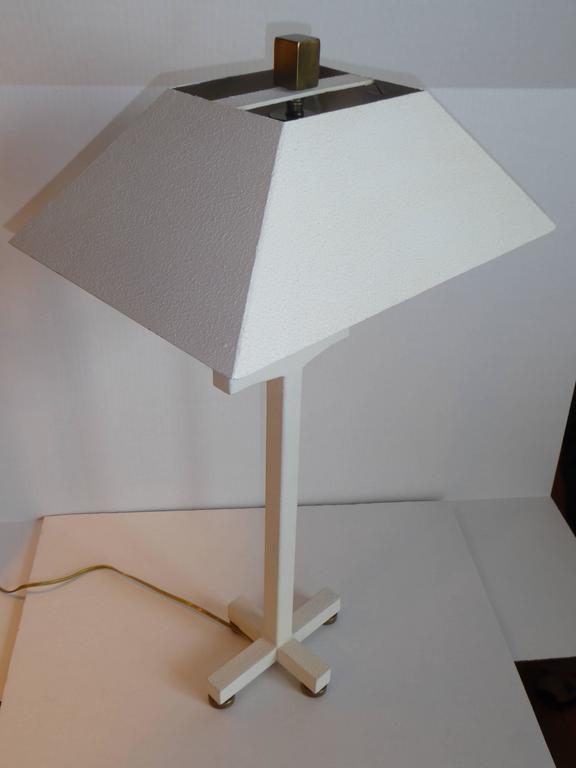 American Postmodern Bouillotte Lamp by Hart Associates For Sale