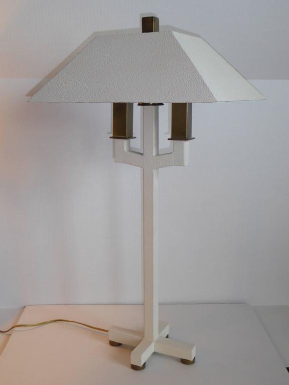 Post-Modern Postmodern Bouillotte Lamp by Hart Associates For Sale