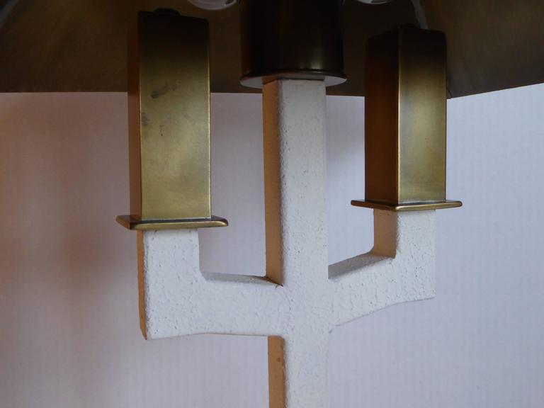 Postmodern Bouillotte Lamp by Hart Associates For Sale 1