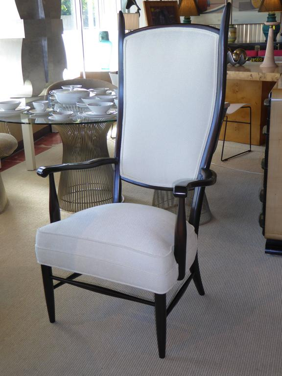 Mid-Century Paolo Buffa Style Chieftain Armchair For Sale 3