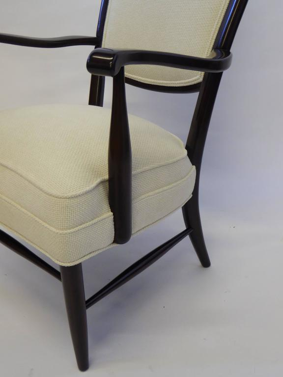 Maple Mid-Century Paolo Buffa Style Chieftain Armchair For Sale