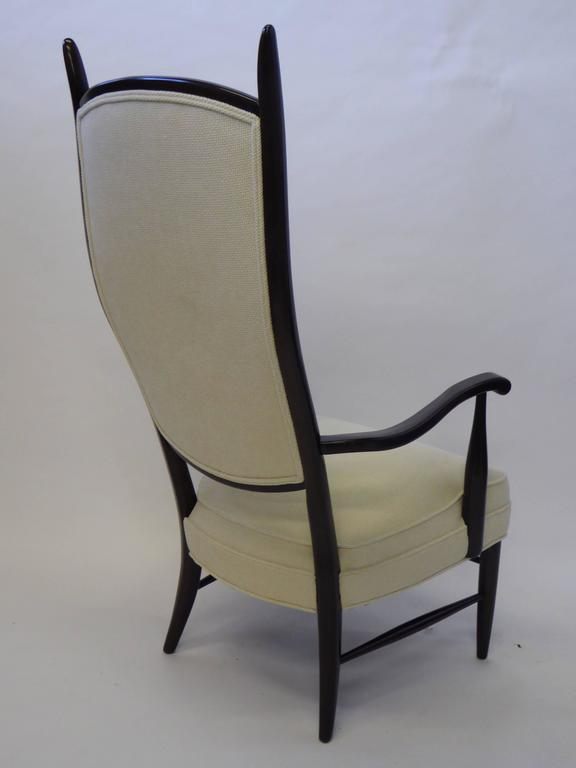 Mid-Century Modern Mid-Century Paolo Buffa Style Chieftain Armchair For Sale