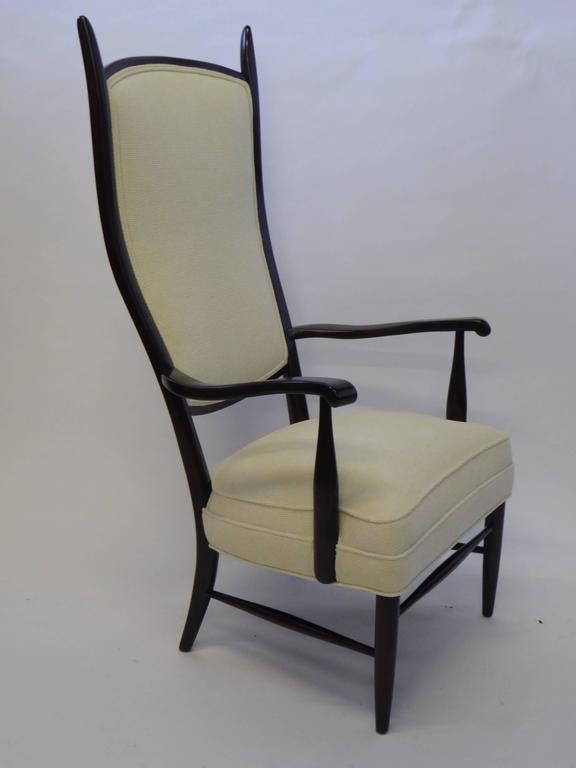 Mid-Century Paolo Buffa Style Chieftain Armchair In Excellent Condition For Sale In Miami, FL