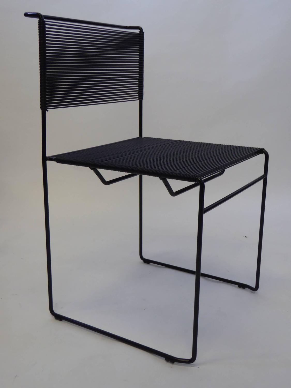 Four Spaghetti Chairs By Giandomenico Belotti For Flyline