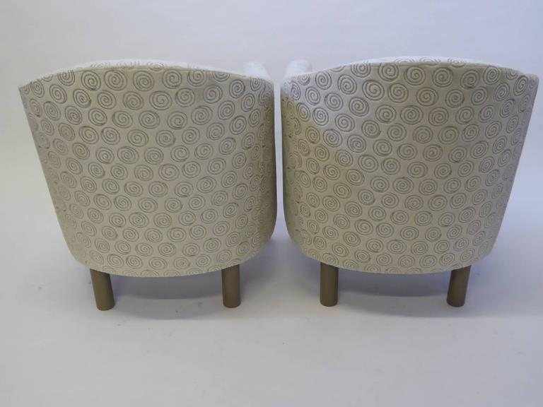 Pair of Club Chairs by Brayton International Collection 3