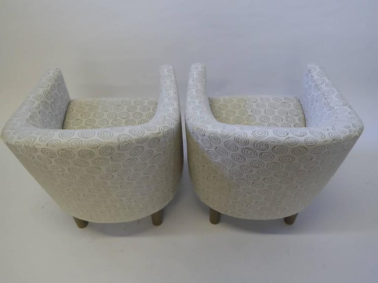 Pair of Club Chairs by Brayton International Collection 4