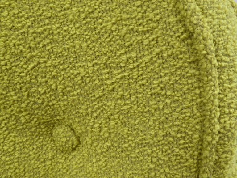 1950s Orla Molgaard Nielsen Style Boucle Upholstered Armchair For Sale 3