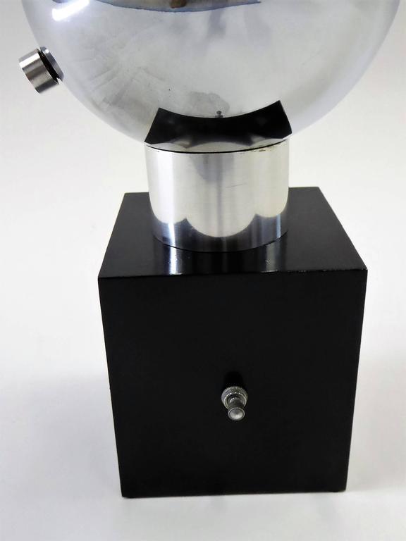 1970s Robert Sonneman Space Age Chrome Ball Molecule Table Floor Lamp 5