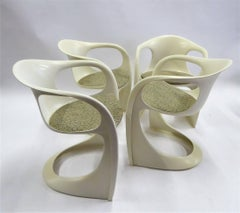 Four Alexander Begge Casalino Chairs Germany 1970