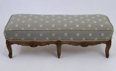 18th Century Louis XV Petit Footstool Tabouret Original Aged Finish