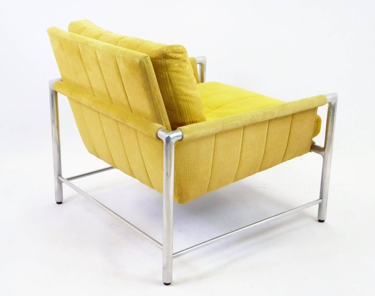 Pair of 1960s Founders Furniture Lounge Chairs in the Style of Harvey Probber For Sale 1