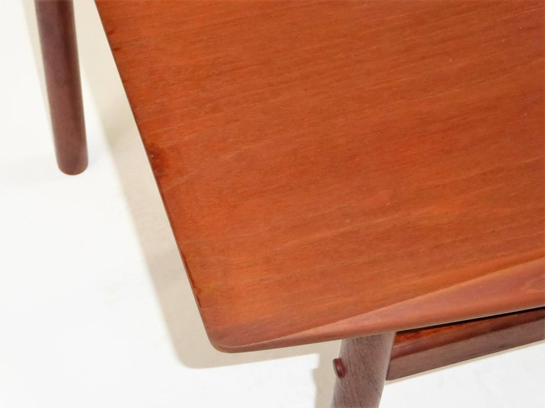 1960s Grete Jalk Teak Side Tables for Poul Jeppesen For Sale 1