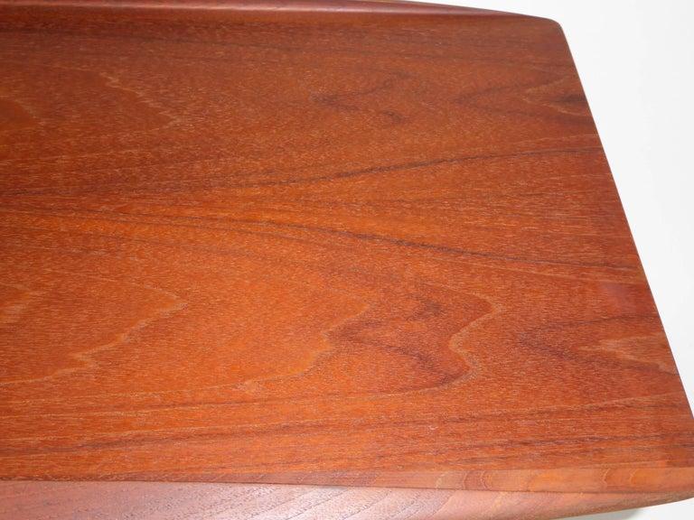 1960s Grete Jalk Teak Side Tables for Poul Jeppesen For Sale 4