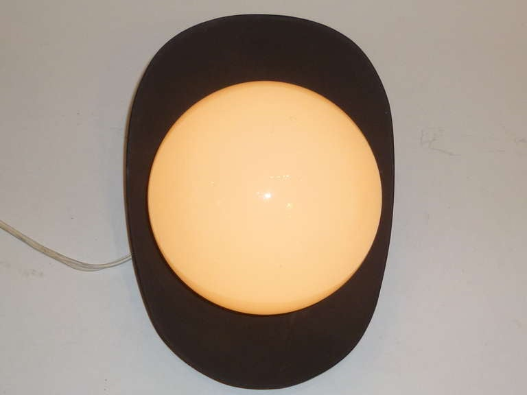 1960s Modern Pop Globe Wall Lights In Good Condition For Sale In Miami, FL