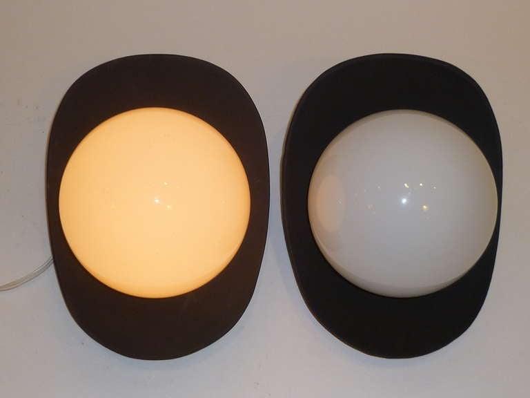 1960s Modern Pop Globe Wall Lights For Sale 1