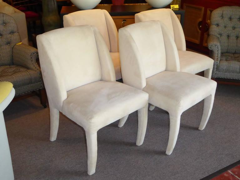 1980s Vladimir Kagan Dining Chairs for Directional 2